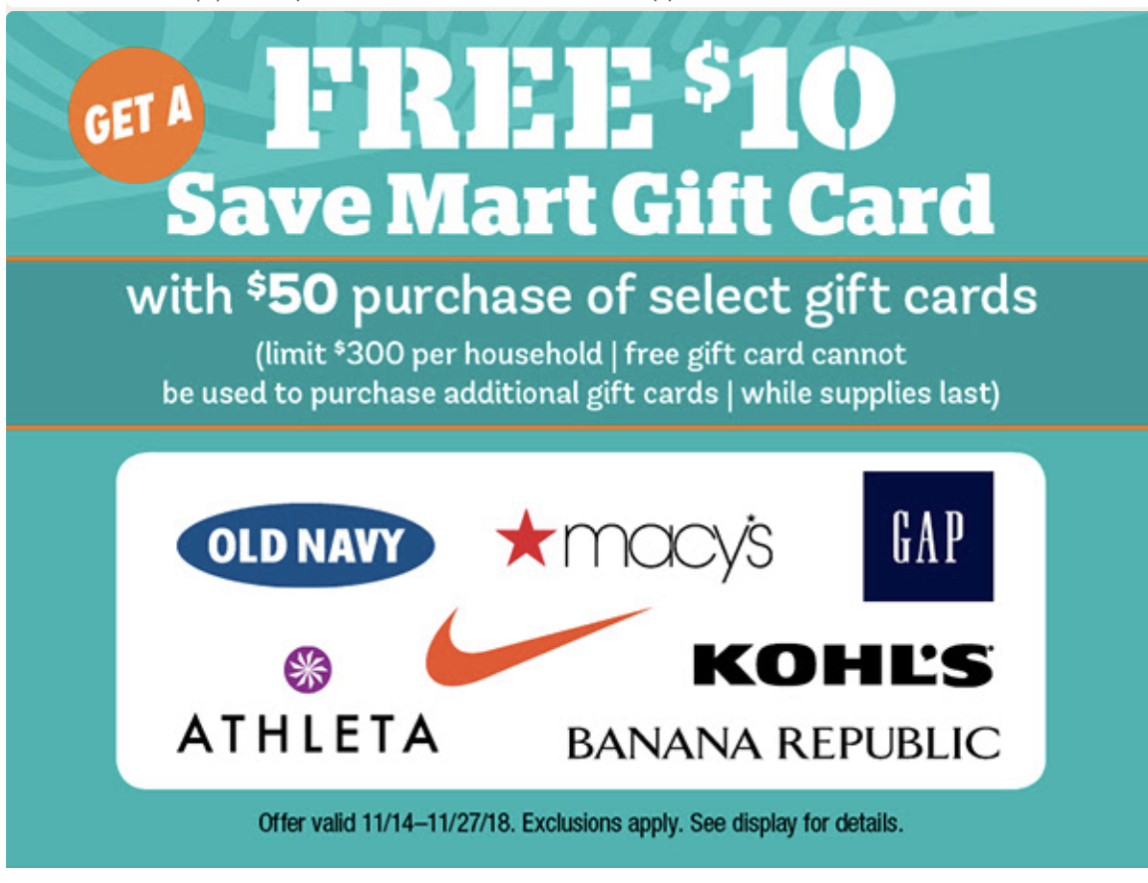 Savemart Gift Card Deal Through 11/27! Pantry Overflow