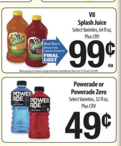 image about Printable Powerade Coupons referred to as Meals Co Greatest Grocery Promotions, Printable Discount coupons, and Revenue Back again